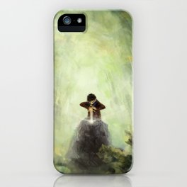 Merlin: Placing the sword in the stone iPhone Case