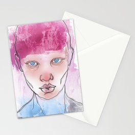 Untitled ( Study of a Woman ) Stationery Cards