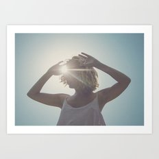 un sol de ideas Art Print
