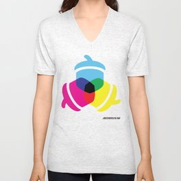Primaries Nuts color Unisex V-Neck