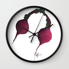 Beets by Me Wall Clock