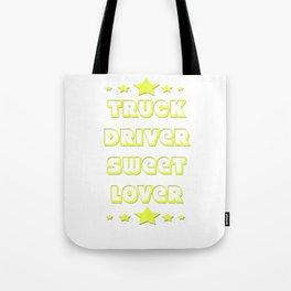 Trucker Truck driver Highway 1 drive Transport driver LKW Funny Tshirt Tote Bag