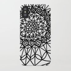 Doodle 12 iPhone X Slim Case