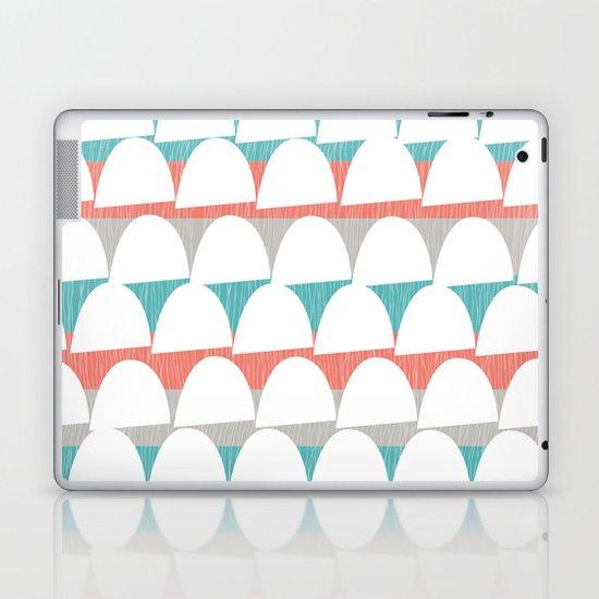 Shroom stripes Laptop & iPad Skin