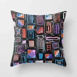 """""""Thunderclouds"""" Throw Pillow"""