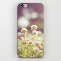 clover iPhone & iPod Skins featuring Clover by laughlovephoto