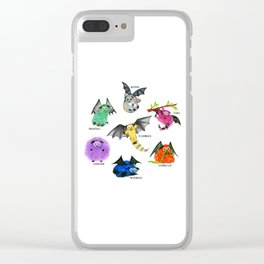 Seven Books, Seven Iggys Clear iPhone Case