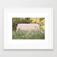 write Framed Art Prints featuring write. by lalubean