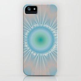 Cosmic floral fantasy iPhone Case