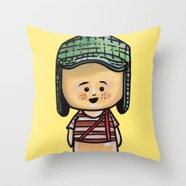 El Chavo Del Ocho Throw Pillow
