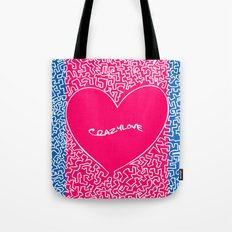 Crazylove Tote Bag