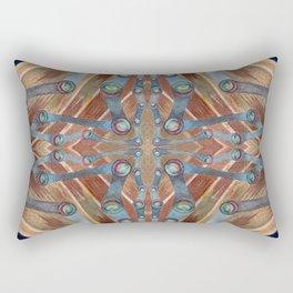 Night Portal Dream Pattern Rectangular Pillow