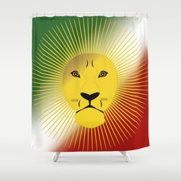 Lion And Sun Home Shower Curtain