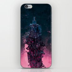 The Technocore / 3D render of futuristic structure iPhone & iPod Skin