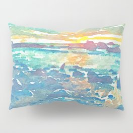 Lake Michigan Pillow Sham