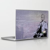 lincoln Laptop & iPad Skins featuring Inked Lincoln by Jacob Clark