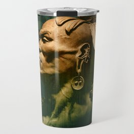 First Peoples Power - woodland indian Travel Mug