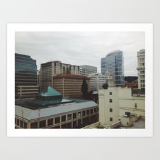 Portland 003 Art Print