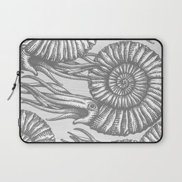 AMMONITE COLLECTION GRAY Laptop Sleeve