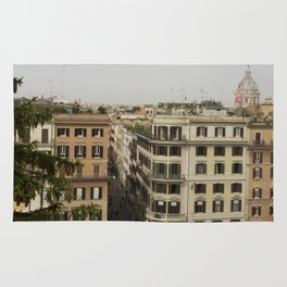 View from the Spanish Steps Rug