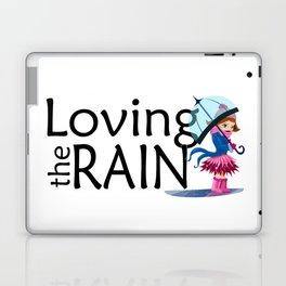 Loving the Rain Laptop & iPad Skin