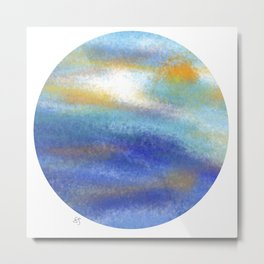 circling around Metal Print