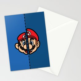 Old & New Mario Stationery Cards
