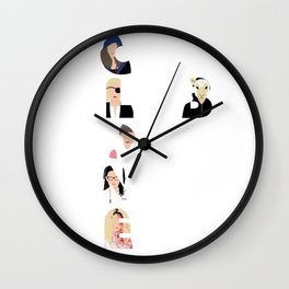 Orphan Black - Clone Club V1 W Wall Clock
