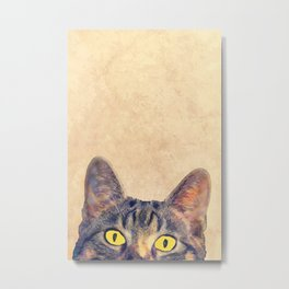 hidden cat 2 Metal Print