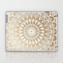 Gold Mandala 19 Laptop & iPad Skin