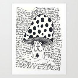trippin Art Print