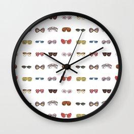 Retro sunglasses Wall Clock