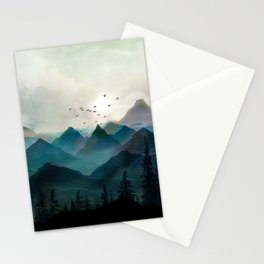 Mountain Sunrise II Stationery Cards