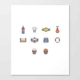 Wrestling Equipment Canvas Print