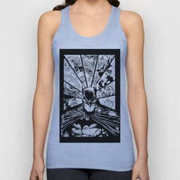 Caped Crusader & Friends Unisex Tank Top