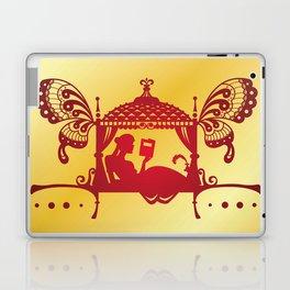 Bridal Palanquin India.doli silhouette Laptop & iPad Skin