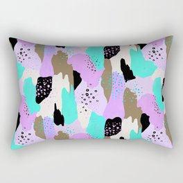 Party in my tummy Rectangular Pillow