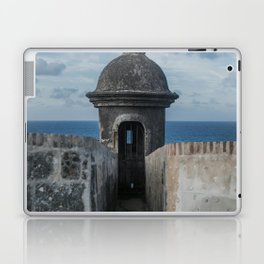Fortification walls in Puerto Rico Laptop & iPad Skin