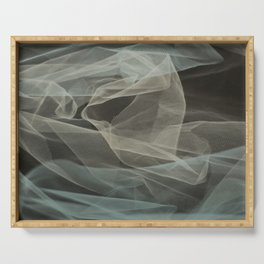 Abstract veil background 5 Serving Tray