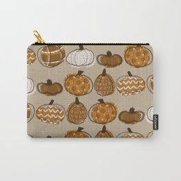 Pumpkin Party in Almond Carry-All Pouch