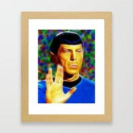 Magical Star Trek Spock Framed Art Print