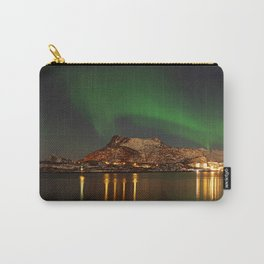 Landscape with the Northern Lights Carry-All Pouch