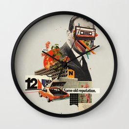 Same Old Reputation Wall Clock