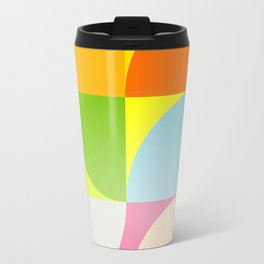 mid century modern geometry Travel Mug