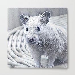 Impressive Animal - cute Hamster Metal Print