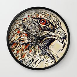 Eagle guide Wall Clock