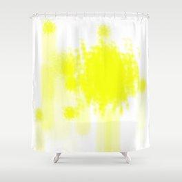 I feel yellow Shower Curtain