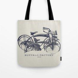 BUFFALO FACTORY Vintage Bicycle Tote Bag