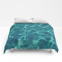 cool pool Comforters
