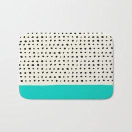 Aqua x Dots Bath Mat